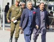 لاہور: صوبائی وزیر صنعت و تجارت میاں اسلم اقبال پنجاب اسمبلی کے اجلاس ..