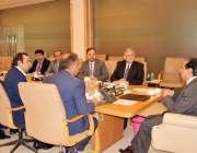 اسلام آباد: چیئرمین نیب جسٹس (ر) جاوید اقبال سے بزنس کمیونٹی کا وفد ملاقات ..