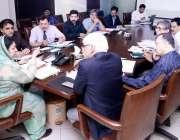 لاہور: صوبائی وزیر صحت ڈاکٹر یاسمین راشد محکمہ سپیشلائزڈ ہیلتھ کیئر ..