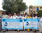 سرگودھا: ڈسٹرکٹ ہیلتھ آفیسر ڈاکٹر سہیل احمد قاضی ہیپا ٹائٹس کے عالمی ..