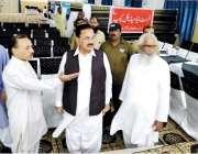 لاہور: صوبائی وزیر کوآپریٹو محمد اسلم بھروانہ کو آپریٹو ٹریننگ کالج ..