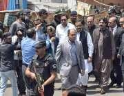 لاہور: وزیر اعلیٰ پنجاب سردار عثمان بزدار دربار کے باہر خود کش حملہ ..