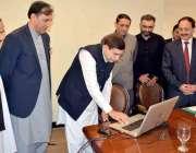 مظفرآباد: قائمقام صدر آزادکشمیر شاہ غلام قادر اسمبلی سیکرٹریٹ کی نئی ..