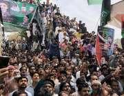 نوشہرو فیروز: چیئرمین پاکستان پیپلز پارٹی بلاول بھٹو زرداری کے کاروان ..