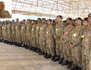 راولپنڈی: آرمی چیف جنرل قمر جاوید باجوہ فارمیشن آف سٹرائیک کور کے دورہ ..