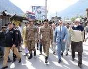 نیلم: انٹر سروسز تعلقات عامہ کے ڈائریکٹر جنرل میجر جنرل آصف غفور سفارت ..
