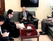 اسلام آباد: پاکستان میں جاپان کے سفیر ایچ ای کونینوری میتسودا نے پی ..