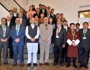 اسلام آباد: وفاقی وزیر برائے انرجی (پاور سیکٹر) عمر ایوب خان کا مقامی ..