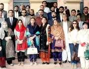 لاہور : سندھ اسمبلی کے 22 رکنی پارلیمانی وفد کا پنجاب اسمبلی کے دورہ ..