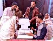 حیدرآباد: ڈاکٹر عائشہ پارک لطیف آباد میں انڈس لائنز کلب انٹرنیشنل کے ..