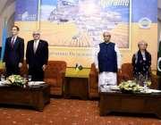اسلام آباد: چئیر مین کشمیر میٹ سید فخرامام یوکرائن کی آزادی کی 28ویں ..