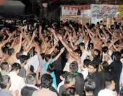 راولپنڈی: حضرت علی (رض) کے یوم شہادت کے موقع پر کشمیری بازار سے برآمد ..