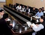 راولپنڈی: ڈپٹی کمشنر چوہدری محمد علی رندھاوا پاکستان ون ڈے کپ2019کرکٹ ..