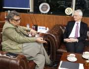 اسلام آباد: پاکستان میں فرانس کے سفیر ، ایچ.ای. ڈاکٹر مارک بریٹی نے وفاقی ..