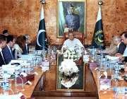 اسلام آباد: صدر مملکت ڈاکٹر عارف علوی کامسیٹ یونیورسٹی کے سینیٹ اجلاس ..