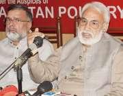 لاہور: پاکستان پولٹری ایسوسی ایشن کے عہدیداران پریس کلب میں پریس کانفرنس ..