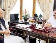 لاہور: وزیر اعلیٰ پنجاب سردار عثمان بزدار سے صوبائی وزیر قانون و بلدیات ..