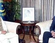 اسلام آباد: صدر مملکت ڈاکٹر عارف علوی سے بیلجیئم کے لیے نامزد پاکستانی ..