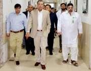 اٹک: کمشنر راولپنڈی جودت ایاز ڈسٹرکٹ ہیڈ کوارٹر ہسپتال اٹک کا دورہ ..