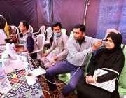 حیدرآباد:  ڈاکٹرعائشہ پارک لطیف آباد میں انڈس لائنز کلب انٹرنیشنل کے ..