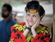 کیلاش: وادی بمبوریت میں ثقافتی لباس پہنے خاتون چلم جوشٹ تہوار میں شریک ..