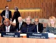 پیرس: شفقت محمود ، وفاقی وزیر تعلیم و پیشہ ورانہ تربیت اور یونیسکو کے ..