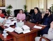 اسلام آباد: وفاقی وزیر برائے بین الصوبائی رابطہ ڈاکٹر فہمیدا مرزا سے ..