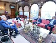 اسلام آباد: وزیر اعظم عمران خان سے چیئرمین ہاشو گروپ صدرالدین ہاشوانی ..