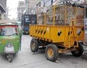 راولپنڈی: واپڈا کی نا اہلی ،پرانہ قلعہ چوک میں رکھا گیا ٹرانسفارمر ..