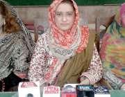 حیدر آباد: ایسوسی ایشن فار بیٹر کمیونٹی چیئر پرسن فردوس سانگی اور دیگر ..