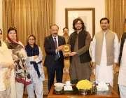 کوئٹہ: گورنر پنجاب بلوچستان امان اللہ خان یاسین زئی پنجاب اسمبلی کے ..