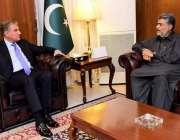 اسلام آباد: وزیر خارجہ مخدوم شاہ محمود قریشی سے وزیر اطلاعات پنجاب ..