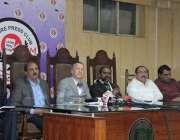 لاہور: پاکستان میں تعینات جرمنی کے سفیر لاہور پریس کلب کے پروگرام میٹ ..
