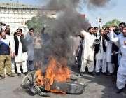 لاہور: لاہور سمیت مختلف اضلاع سے آئے بلدیاتی نمائندوں نے احتجاج کے ..