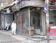 راولپنڈی: ٹی ایم اے کی نا اہلی کے باعث اردو بازار میں دوکانداروں نے ..