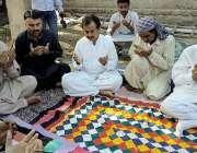 کراچی: پی ٹی آئی سندھ کے قائمقام صدر حلیم عادل شیخ ابراہیم حیدری میں ..