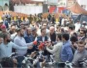 لاہور: وزیر اعلیٰ پنجاب سردار عثمان بزدار دربار کے باہر خود کش دھماکے ..