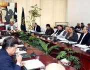 اسلام آباد: مشیر خزانہ ڈاکٹر عبدالحفیظ شیخ کمیٹی اجلاس کی صدارت کر ..