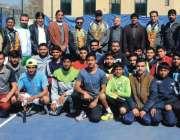 پشاور: خیبر پختونخوا اوپن ٹینس چمپئن شپ میں شریک کھلاڑیوں کا مہمان ..