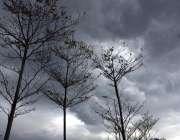 اسلام آباد: وفاقی دارالحکومت میں آسمان پرگہرے بادل چھائے ہوئے ہیں۔