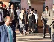 لاہور: وزیر اعلیٰ پنجاب سردار عثمان بزدار پنجاب اسمبلی اجلاس میں شرکت ..