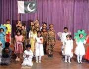 فیصل آباد: یوم اقبال کے سلسلے میں آرٹس کونسل میں منعقدہ ایک تقریب کے ..