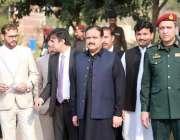 لاہور:وزیراعلی پنجاب سردار عثمان بزدار ریسکیو 1122 کے 15 سال مکمل ہونے ..