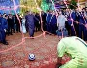 اسلام آباد: وفاقی وزیر تعلیم و پیشہ ورانہ تربیت شفقت محمود نے میریٹ ..