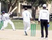 لاہور: کارپوریٹ سیکٹر کی ٹیموں کے درمیان جاری پروفیسر محتار احمد بٹ ..