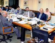 اسلام آباد: چیئرمین نیب ، جسٹس (ر) جاوید اقبال کی زیر صدارت نیب ہیڈ کوارٹرز ..