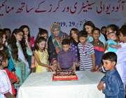 حیدرآباد: مہران آرٹ کونسل میں دیوالی فیسٹیول تقریب کے دوران ہندو برادری ..