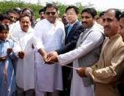 جہلم: وفاقی وزیر اطلاعات و نشریات فواد حسین چودھری پنڈ دادن خان میں ..