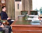 اسلام آباد: صدر مملکت ڈاکٹر عارف علوی سے وائس چانسلر قائد اعظم یونیورسٹی ..