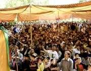 اسکردو :چئیرمین پاکستان پیپلز پارٹی بلاول بھٹو زرداری روندومیں ورکرز ..